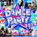 Dance Party 2014 [cd dvd] Sam Smith Miley Katy Perry Ariana